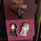 Universal Studios Wizarding World of Harry Potter Severus & Albus Pin Set New