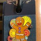 Universal Studios Exclusive Shrek Gingy Gingerbread Man Metal Trading Pin