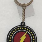 Six Flags Magic Mountain Dc Comics The Flash Logo LED Light Keychain New
