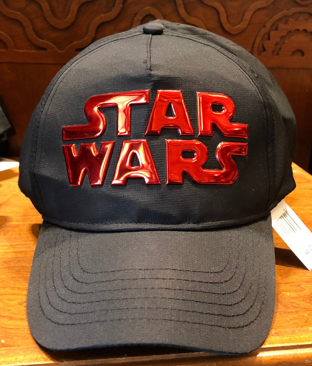 Disney Parks Exclusive Star Wars Black/ Red Adjustable Hat Cap New