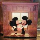 Disney WonderGround Gallery Mickey & Minnie Mouse Magnet Eunjung June Kim New
