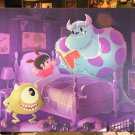 Disney WonderGround Monsters Inc. Bedtime Story Mike Sulley LE Giclee June Kim
