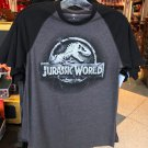 Universal Studios Jurassic World Fallen Kingdom Stone Logo Mens T-Shirt Large