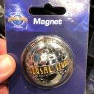 Universal Studios Exclusive Universal Studios Globe Half Dome Magnet New
