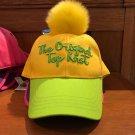 Disney Parks The Original Top Knot Snapback Cap Hat New