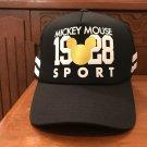 Disney Parks Mickey Mouse 1928 Sport Snapback Cap Hat New