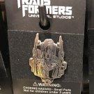Universal Studios Exclusive Transformers Optimus Prime Face Metal Trading Pin*