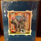 Disney Parks Dumbo Defying Self Drying Deluxe Print by Daniel Killen New