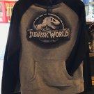 Universal Studios Jurassic World Fallen Kingdom Stone Logo Mens Hoodie X-Large