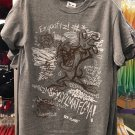 Six Flags Magic Mountain Looney Tunes Tasmanian Devil Inner Thoughts Shirt XXL