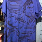 Six Flags Magic Mountain DC Comics Superman Blue Shirt Size X-Large New