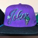 Six Flags Magic Mountain Dc Comics The Joker Snapback Hat Cap New**