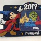 Disneyland Resort 2017 Mickey Mouse Sorcerer Magnet Photo Frame New
