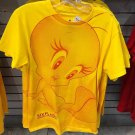 Six Flags Magic Mountain Looney Tunes Sun Flower Tweety Bird Womens Shirt XXL