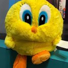 Six Flags Magic Mountain Looney Tunes Extra Fluffy Round Tweety Bird Plush New