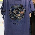 Six Flags Magic Mountain DC Comics Cyborg Mens Shirt Medium New