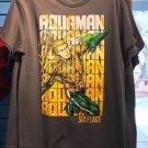 Six Flags Magic Mountain DC Comics Aquaman Mens Shirt Large New