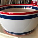 Disney Parks Mickey Mouse American Legend Ceramic Bowl New