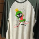 Six Flags Magic Mountain Looney Tunes Mavin The Martian Long Sleeve Shirt Medium