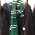Universal Studios The Wizarding World Of Harry Potter Slytherin Scarf New w/ Tag
