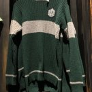 Universal Studios Harry Potter Slytherin Quidditch Lambwool Sweater Medium