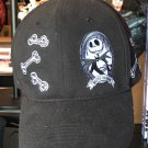 Disney Parks Nightmare Before Christmas Jack Skellington Bone Daddy Hat Cap New
