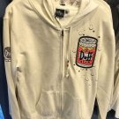 Universal Studios The Simpson Duff Beer Hoodie Medium New