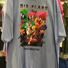 Six Flags Magic Mountain Looney Tunes Mulit Character Mens Shirt XX-Large New*