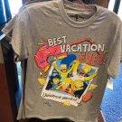 Universal Studios The Simpson Best Vacation Ever! Mens Shirt Medium New