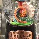 Six Flags Magic Mountain Established 1971 Snow Globe New