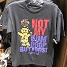 Universal Studios Shrek 4D Not My Gum Drop Buttons Short Sleeve Mens Shirt XXL