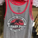 Universal Studios Exclusive Jurassic Park Section 8 Tank Top Mens X-Large New