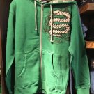 Universal Studios Wizarding World of Harry Potter Slytherin Hoodie X-Large New