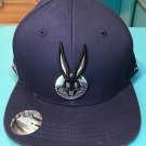 Six Flags Magic Mountain Looney Tunes Bugs Bunny Snapback Hat Cap New