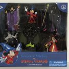 Disney Parks Sorcerer Mickey Mouse vs. Disney Villains Collectible Figures New