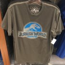 Universal Studios Jurassic World Mens Gray Shirt Medium New