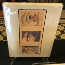 Disney Parks Cinderella 1950 #1 Deluxe Matted Print by Costa Alavezos New