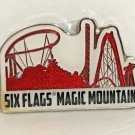 Six Flags Magic Mountain Exclusive Acrylic / Metal Refrigerator Magnet New