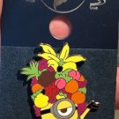 Universal Studios Despicable Me Minion with Fruit Hat Metal Pin New