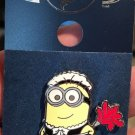 Universal Studios Despicable Me Minion with Maid Outfit Metal Pin New