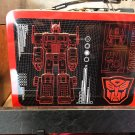 Universal Studios Exclusive Transformers Autobots Decepticons Tin Lunch Box New