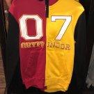 Universal Studios Harry Potter Gryffindor Quidditch Gamet Hoodie Size Large