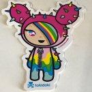 TOKIDOKI 100% Authentic Rainbow Sandy Sticker New