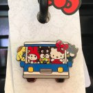 Universal Studios Hello Kitty and Friends on Tram Collectible Pin New on Card