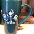 Disney Parks The Haunted Mansion Hitchhiking Ghost Travel Mug w/ Lid New