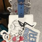 Universal Studios Despicable Me 3 Best Vacation Ever Leather Luggage Tag New