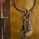 Universal Studios Wizarding World of Harry Potter Ron Weasley 3 Charm Keychain