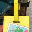 Universal Studios Sponge Bob Square Pants Best Vacation Ever Leather Luggage Tag