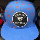 Six Flags Magic Mountain Dc Comics Superman Mesh Blue Snapback Hat New