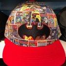 Six Flags Magic Mountain Dc Comics Batman Comic Strip Snapback Hat